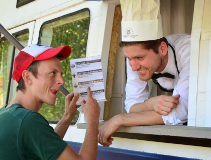 Monsieur Croque – A food truck business