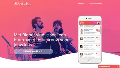 Blober – Taskplatform for neighbours