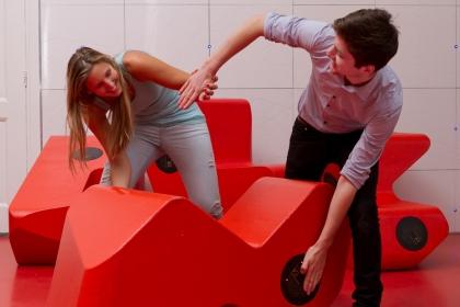 TouchSpace – Interactive soundscape furniture